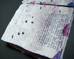 Signs and Symbols Experimental Typography Book by Ashley Gummelt, via Behance