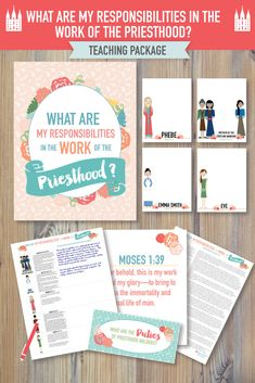 """""""What are my responsibilities in the work of the Priesthood?"""" June Come Follow Me Young Women lesson. This is such a beautiful lesson as you study different women in the scriptures and how they work hand-in-hand in Heavenly Father's work! #junecomefollowme"""