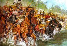 El ejército macedonio. La creación de Filipo II. Hetairoi