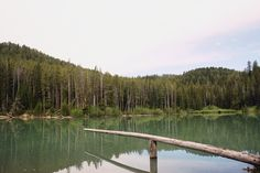 One of my most favorite lakes with most favorite memories. Packsaddle Lake, ID