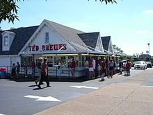 Ted Drewes. St. Louis, Missouri. Every time we drive though St. Louis to go to Oklahoma we stop at Ted Drewes!