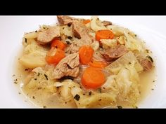 Húsos káposztaleves / Szoky konyhája / - YouTube Hungarian Recipes, The Creator, Spaghetti, Ethnic Recipes, Food, Youtube, Turmeric, Hoods, Meals