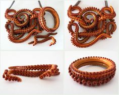 tentacle jewelry by KTOctopus