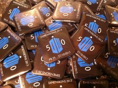 Conventions, shows or open days - A good way for your event to be remembered. Square 38mm button pin badges www.quickbadge.co.uk