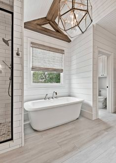 Beautiful master bathroom decor a few ideas. Modern Farmhouse, Rustic Modern, Classic, light and airy master bathroom design ideas. Bathroom makeover some ideas and master bathroom renovation suggestions. Dream Bathrooms, Amazing Bathrooms, Small Bathrooms, Modern Bathrooms, Marble Bathrooms, Luxury Bathrooms, Bathrooms Suites, Farm Style Bathrooms, Complete Bathrooms