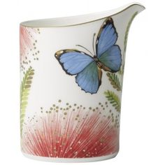 Villeroy and Boch tableware stands the test of time. Peter's of Kensington has Australia's most impressive range of Villeroy and Boch dinnerware, cutlery and glassware Yellow Orchid, Dining Ware, Dining Room, Floral Drawing, Red Blue Green, Villeroy, Coffee Creamer, Touch Of Gold, Small Birds