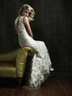 Find this Allure Bridal gown and more at Wedding Chapel Bridals in Crystal, Minnesota...look on the web at http://www.weddingchapelbridals.com