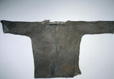 1400s 15th century   chain mail garment for military costume called a Hauberk.