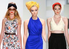 The return of the turban.    Blowdryonthefly.com