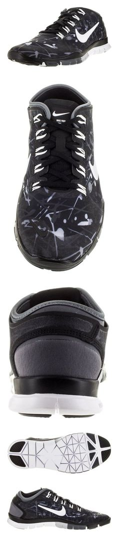 $110 - Nike Women's Free TR Connect 2 Black/White/Wolf Grey/Drk Grey Training Shoe 9.5 Women US #shoes #nike #2011