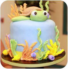 Craes Creations Sea Turtle Cake  Cupcakes