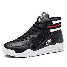 68d35c7f Black Hidden Lift Skate Shoes for Men Taller 3.2inch / 8cm Elastic Belt High  Top