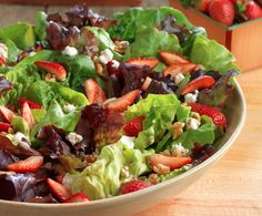 RECIPE: Summer Strawberry Salad | Joan Lunden