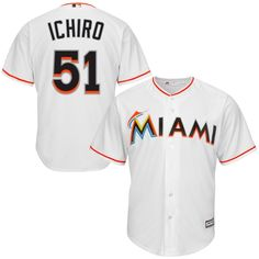 dbefd48ca77 Youth Miami Marlins Majestic White Custom Cool Base MLB Jersey