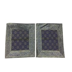 """Mogul 2 Ethnic Indian Silk Cushion Covers Vintage Sari Patchwork Home Decor Pillow Cases 16"""" x 16""""      https://www.walmart.com/search/?cat_id=0&grid=true&page=3&query=mogul+interior+CUSHION+COVER+#searchProductResult"""