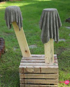 Concrete Crafts, Outdoor Furniture, Outdoor Decor, Towel, Shapes, Diy, Handmade, Design, Wooden Crafts