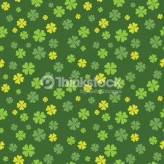 Clover field seamless pattern. Vector illustration EPS10. File contains Ai and PDF formats.