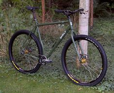 Surly Ogre 29er mountain touring bike...want!!! http://surlybikes.com/bikes/ogre/bike_specs