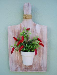 Tábua de Carne com vaso de pimenta