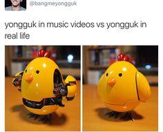 Hehehehe phobohoho YongGuk is adorbs. B.A.P.