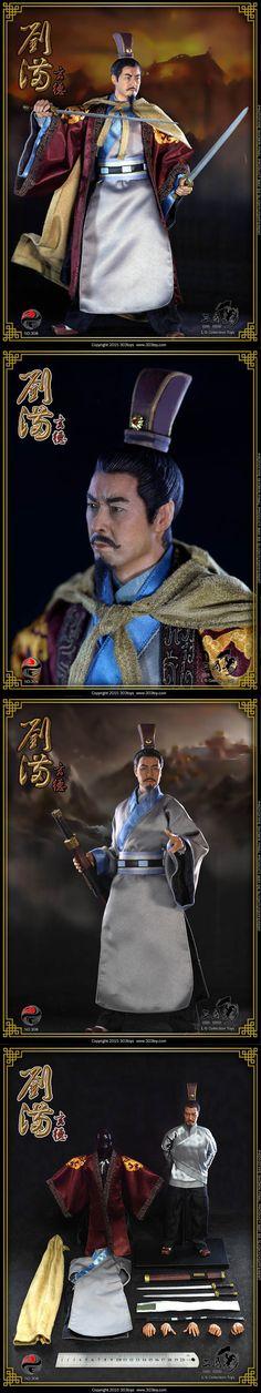 [303TOYS 1/6 China Series No. 308 - Liu Bei(유비)]