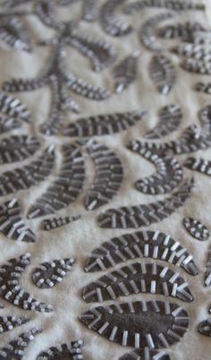 Alabama Chanin. My friend Mary Bradshaw turned me onto Alabama Chanin last year - she is both a textile and fashion designer - love her stuff!
