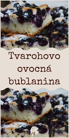 Tvarohovo ovocná bublanina Pickled Cabbage, Pickles, French Toast, Breakfast, Sweet, Recipes, Food, Morning Coffee, Meal