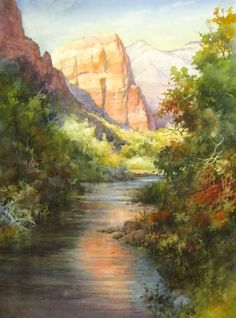 Riverwalk Zion National Park – Giclee Print | Roland Lee