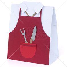 Barbecue Man Uniform Box – Nilmara Quintela Paper Designer