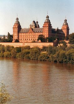 Palace in Aschaffenburg, Germany.