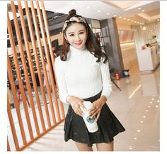 Cheapest SweaterFashionable Long Sleeved SweaterWhite
