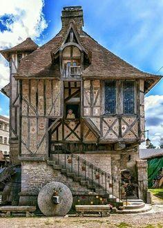 Built 1509.  Village of Argentan, France