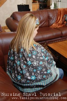 Sew a nursing cover tutorial