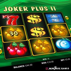 Joker Plus II Go: well-loved game with double win and joker. That will magic a victorious smile even onto your poker face! Poker Face, Online Casino, Slot, Opportunity, Joker, Faces, Smile, Popular, Fun