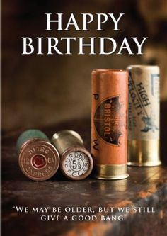 Old Shotgun Cartridges Shooting Birthday Card by Charles Sainsbury-Plaice by Charles Sainsbury-Plaice @ £2.95 http://www.amazon.co.uk/gp/product/B00CS834K0/ref=cm_sw_r_pi_alp_UdQKrb0NRMP97