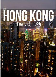 Things to do in Hong Kong!