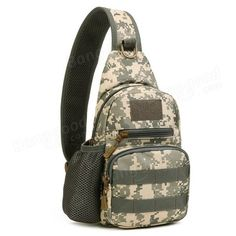 Mens Tactical Shoulder Bag Backpack Sling Chest Bag Assault Pack Messenger Bag - US$18.99