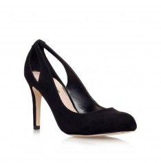 bernadette black mid heel court shoes from Miss KG