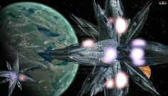 Space bases around the planet Artemis by cosovin on DeviantArt Artemis, Planets, Base, Deviantart, 3d, Plants