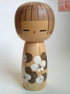Vintage Kokeshi Doll - I own one similar to this