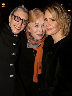 Sarah Paulson Steps Out with Girlfriend and 'Favorite Actress' Holland Taylor