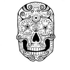 Learn How to Draw a Sugar Skull Step by Step