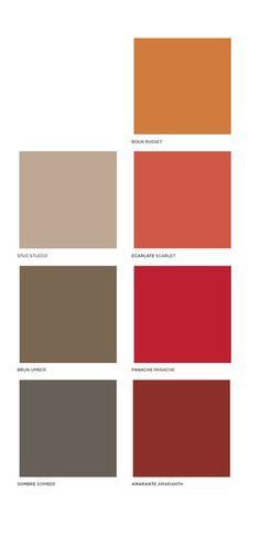 "PeclersParis - ""Flamboyance"" - Color trend - FW 2017-18 - Tendencias (#602672)"