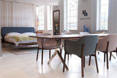 Matthew Hilton for De La Espada | Overton Dining Table + Porto Dining Chairs + Bretton Bed