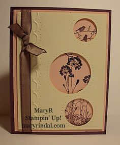 {scrap and stamp with mary} - Serene Silhouettes