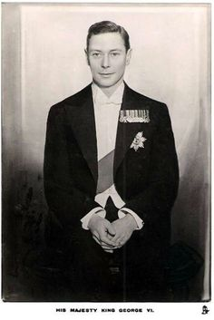 The Duke of York later as George VI father of Princess Elizabeth later Queen Elizabeth II