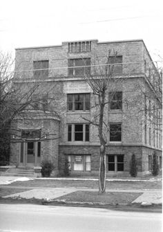 Cache County General Hospital c.1930. The hospital, located at 52 N 100 E Logan, Utah and operated from 1928-1949.