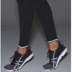 Lululemon Speed Tight IV *Brushed Leggings from Lululemon with side pockets, reflective linings on the ankles if you fold them over, and tightening band around waist. lululemon athletica Pants Leggings