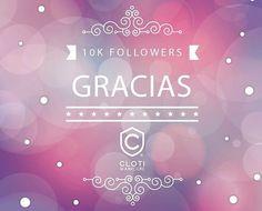 Gracias a todas y todos por seguirnos , hemos llegado a los 10,000 seguidores en #Instagram Cloti.Nailbar!  Los queremos mucho!  Mil gracias por su apoyo y cariño! #Cloti #ClotiCosmopol #Manicure  #clotimovil