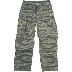 Tiger Stripe Rip-Stop Vintage Military Vietnam Tactical BDU Fatigue Pants ($20-50) - Svpply